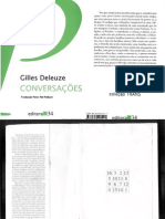 DELEUZE, Gilles. Conversações (1972-1990)