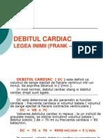 Debitul Cardiac Legea Inimii