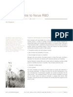 Using Scenarios to Focus R&D