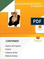 PROGRAMA DE INVESTIGACIÓN DE INCIDENTES Y ACCIDENTES