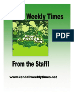 St Pats Kendall Times