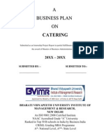Mobile Catering Business Plan Template Salad Foods