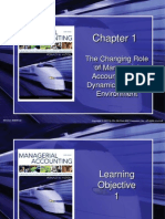 Chap001 - Changing Role of Managerial Accounting in Global Business Environment