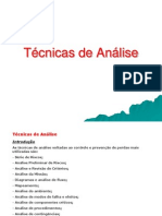 8-Técnicas de Análise - aula 09-08