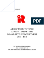 HK IRD Tax Guide