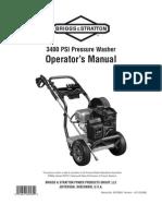 Pressure Washer Bgsn20275_manual