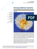 CS Emerging Markets Quarterly - Q2 2012