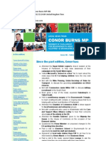 News Bulletin From Conor Burns MP #86