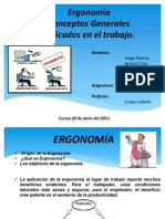 Diapositivas Ergonomía