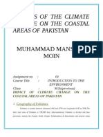 Impact of the Climate Change on the Coastal Areas of Pakistan Mansoor Moin Real
