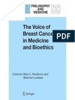 Rawlinson Etal, The Voice of Breast Cancer in Medicine & Bioethics 2006