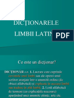 3.Latina Curs III Dictionar