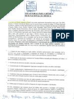 Proposta Fórum Nacional da Música - Direito Autoral (protocolada no MinC)