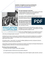 Education_and_Capitalism_book Notes