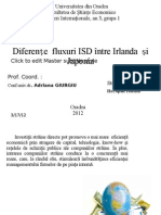 ISD - Irlanda Si Japonia
