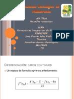 [Met. Num]  Exposicion 13 - Formulas de Integración de Newton-Cotes