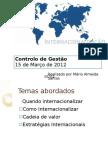 Internacionalização Apresentação