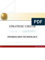 Strategic Uses of IT