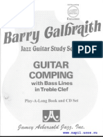 JaZZ Guitar Comping With Bass