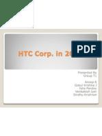 HTC Corp in 2009 - Gokul