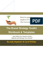 The Brand Strategy Toolkit Workbook