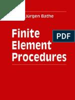 Finite Element Procedures - K J Bathe - 1996