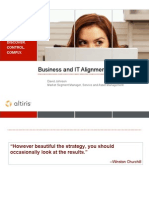 Business and It Alignment Webcast External