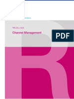 McKinsey Telecoms. RECALL No. 05, 2008 - Channel Management