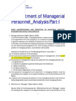 56 09 Appointment of Managerial Personnel Analysis Part i