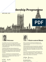 CARE Leadership Programme Brochure 2012-13