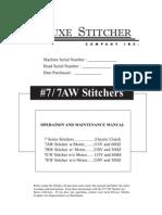 Bostitch Model No7-7AW Stitcher