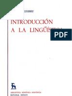 Introducci n a La Ling Stica Coseriu