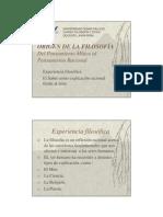 PDF Mitos y Filosofia