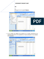 Microsoft Project 2007
