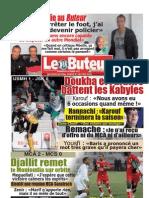 LE BUTEUR PDF du 18/03/2012