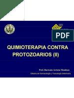 Quimiterapia Anti Protozoarios Estudiantes 2012