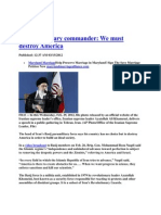 Iran's Threat