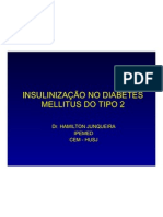 1 - INSULINIZAÇÃO NO DIABETES MELLITUS DO TIPO 2