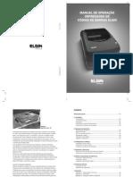 Manual do usuário L42 Elgin