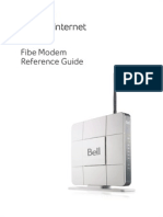 Fibe Modem Manual
