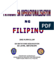 PSSLC Filipino Updated