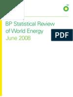 BP Energy Review 2008