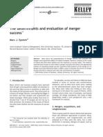 Determinants of Merger Success