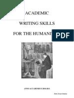 AcademicWritingDispensa2010-2011
