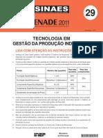 Tecnologia Em Gestao 0da Producao Industrial.prova