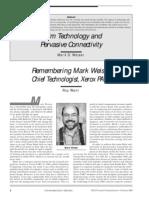 Weiser Pcs Print 2000 (Computacion Ubicua)