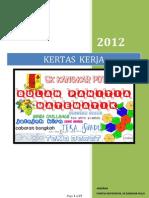 Kertas Kerja - Bulan Matematik Tahun 2012
