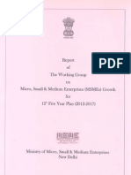 Report of 'Working Group on MSME Growth' for 12th Five Year Plan (2012-17) - Abhishek Kadyan