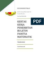 Kertas Kerja - Buletin Matematik Tahun 2012