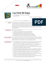 Businesspresso n°6 - The First 90 Days